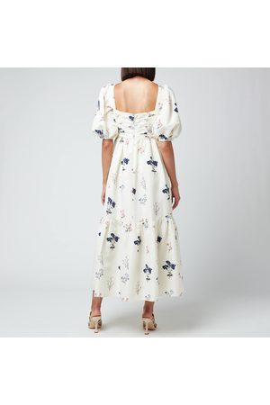 Self-Portrait Women's Vintage Floral Midi Dress