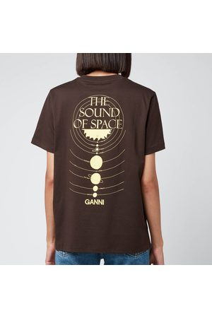 Ganni Women T-shirts - Women's Experiencing Jupiter T-Shirt