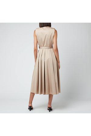 Self-Portrait Women Midi Dresses - Women's Sleevless Tailored Midi Dress