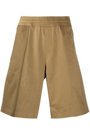 Neil Barrett Wide leg bermuda shorts - Neutrals