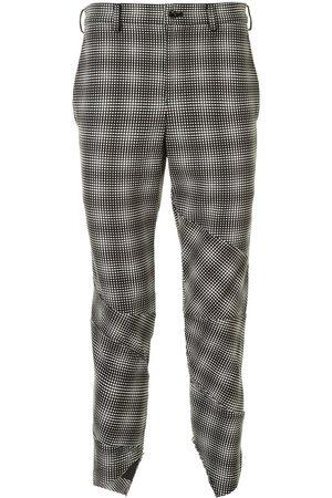 Comme des Garçons Optical-print trousers