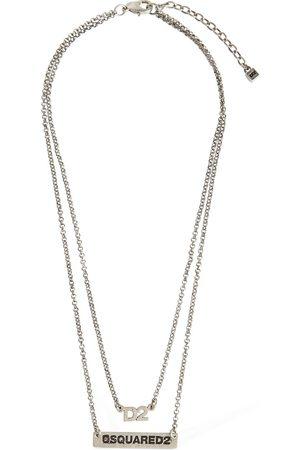 Dsquared2 D2 Double Chain Necklace