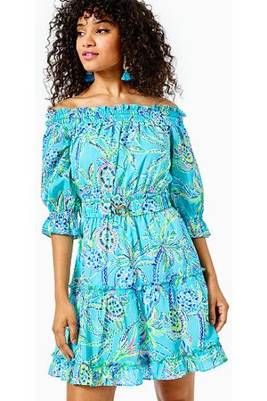 Lilly Pulitzer Women Strapless Dresses - Louisa Off-The-Shoulder Dress