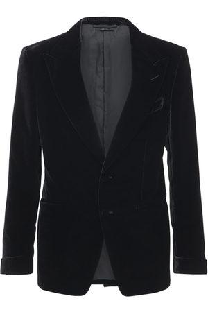 Tom Ford Velvet Rayon Blend Cocktail Jacket