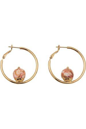 D'ESTREE Sonia Resin Hoop Earrings