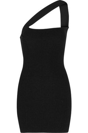 GAUGE81 Women Knitted Dresses - Soria one-shoulder ribbed-knit dress