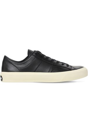 Tom Ford Men Sneakers - Cambridge Leather Low Top Sneakers