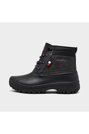 Tommy Hilfiger Girls' Big Kids' Duck Boots Size 4.0