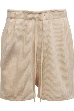 ROUGH. Cotton Corduroy Snug Shorts
