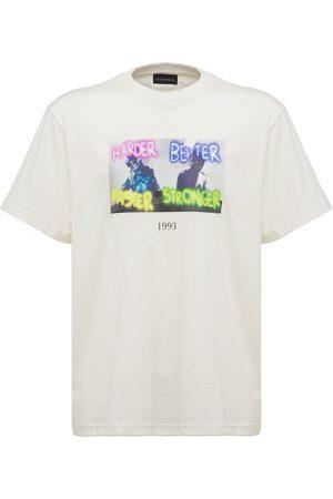 Throwback. Daft Punk Printed Cotton T-shirt