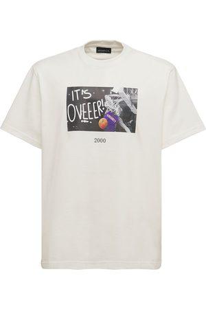 Throwback. Carter Printed Cotton T-shirt