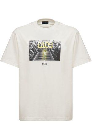 Throwback. Men T-shirts - Dios Maradona Printed Cotton T-shirt