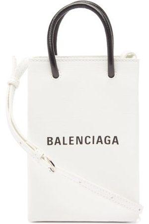 Balenciaga Shopping Mini Leather Cross-body Bag - Womens