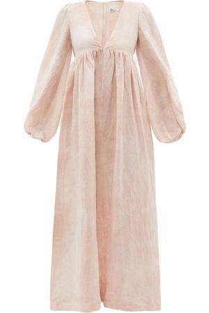 Lisa Marie Fernandez Carolyn Tie-dye Cotton-blend Sun Dress - Womens