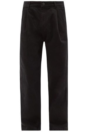 Raey Box Organic-cotton Wide-leg Jeans - Mens