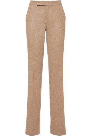 Ralph Lauren Women Straight Leg Pants - Wool & Cashmere Straight Leg Pants