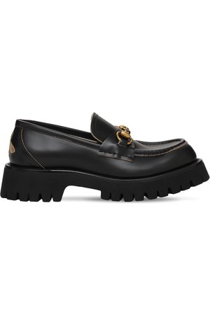 Gucci 25mm Harald Leather Loafers