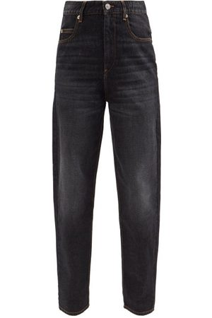 Isabel Marant Women High Waisted - Corsysr High-rise Tapered-leg Jeans - Womens
