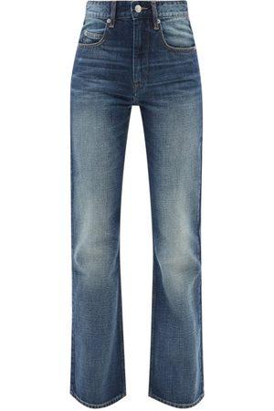 Isabel Marant Women Bootcut - Belvira High-rise Bootcut-leg Jeans - Womens - Mid Denim