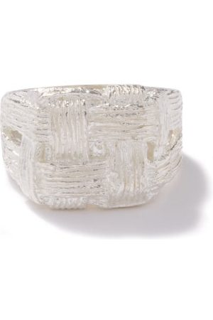 Bleue Burnham Pastry Pudding Recycled Sterling- Ring - Mens
