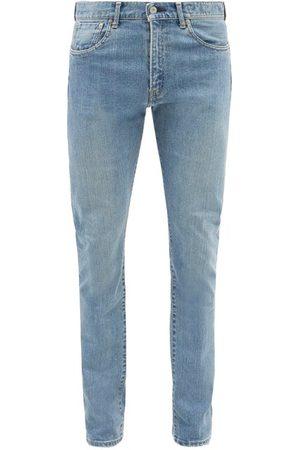 KURO Men Slim - Diamante Mid-rise Slim-leg Jeans - Mens