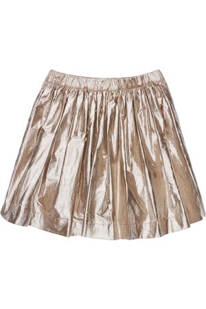 BONPOINT Pleated Cotton Blend Skirt