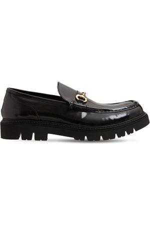 SEBOY'S Horsebit Brushed Leather Loafer