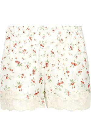 Paco rabanne Pluie De Roses Print Shorts