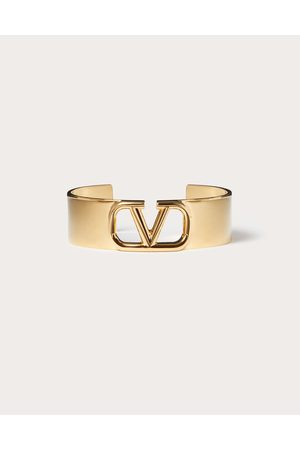 VALENTINO GARAVANI Women Bracelets - Vlogo Signature Metal Bracelet Women 100% Brass S