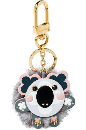 LOUIS VUITTON Women Luggage - Tone Mink Fur Koala Bag Charm/ Key Ring