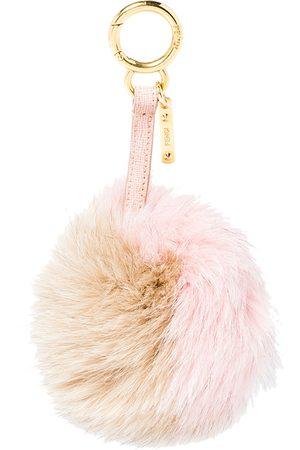 Fendi Women Purses - Fox Fur Pom Pom Bag Charm