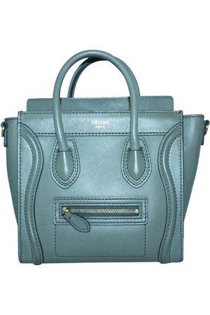 Céline Leather Luggage Micro Satchel Bag