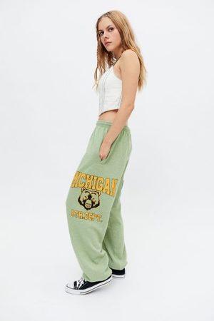 Urban Outfitters Women Sweatpants - Michigan Patch Jogger Pant