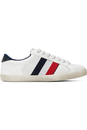 Moncler White Ryegrass Sneakers