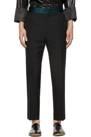 Haider Ackermann Black Wool Classic Skinny Trousers