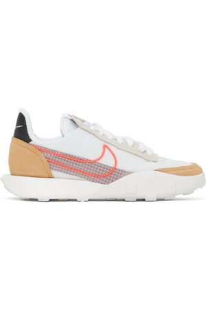 Nike White Waffle Racer 2X Sneakers