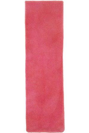 THE ELDER STATESMAN Multicolor Cashmere Gradient Skinny Scarf