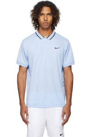 Nike Blue Dri-FIT Court Victory Polo