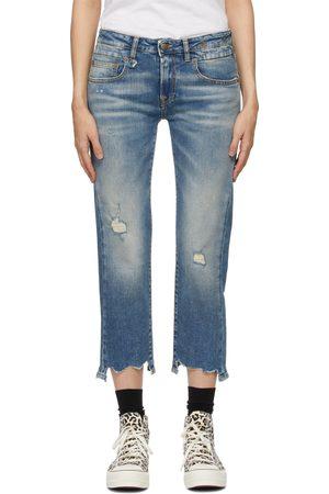 R13 Blue Straight-Leg Boy Jeans