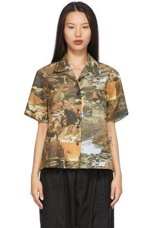YMC Green Vegas Short Sleeve Shirt