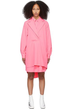 MM6 MAISON MARGIELA SSENSE Exclusive Pink Gilet Dress