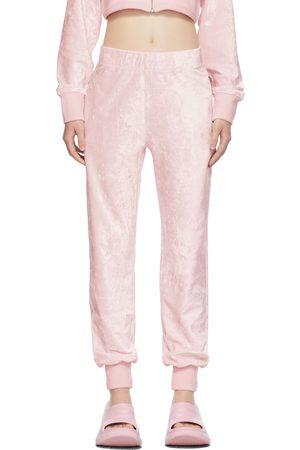 Givenchy Pink Velvet Lounge Pants