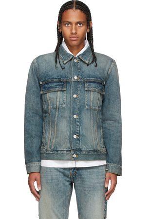 Givenchy Men Denim Jackets - Blue Denim Jacket
