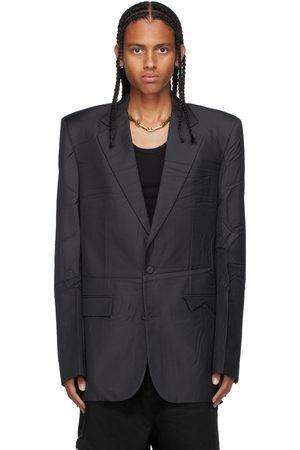 Balenciaga Black Twill Blazer