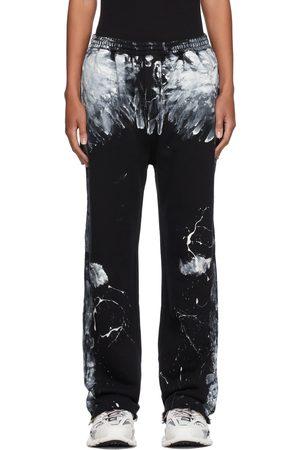 Balenciaga Black Painter Lounge Pants