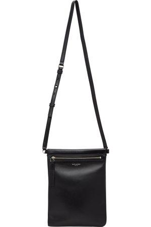 Saint Laurent Men Luggage - Black Flat Sid Bag