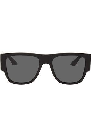 VERSACE Men Sunglasses - Greca Rectangular Sunglasses