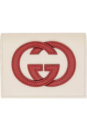 Gucci Off-White Interlocking G Card Holder