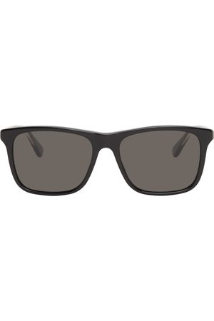 Gucci Men Sunglasses - Black Rectangular Sunglasses