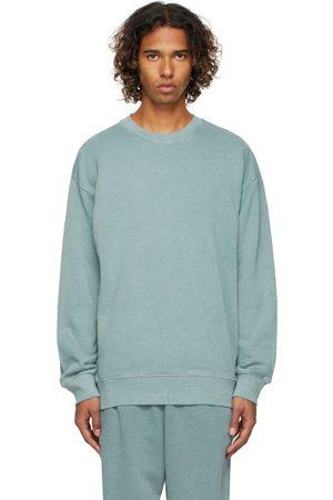 Reebok Men Sweatshirts - Blue Natural Dye Sweatshirt